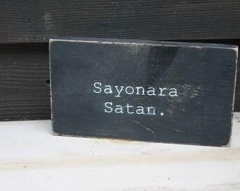 Sayonara Satan
