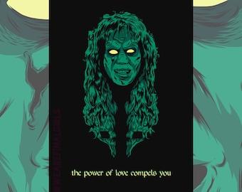 The Exorcist's Regan Greetings Card