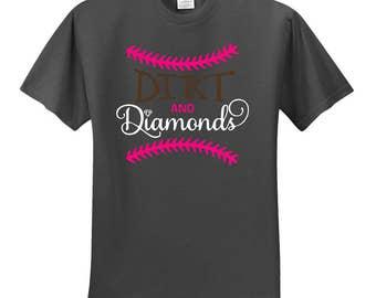 Dirt and Diamonds softball shirt