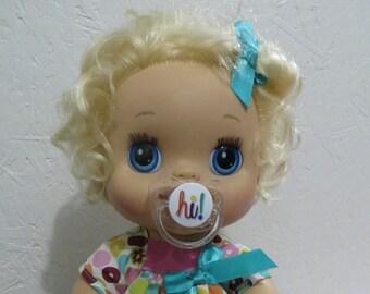 Baby Alive Pacifier for MY Baby ALIVE 2010 Interactive Doll - HI - Please read description