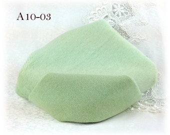 Helmbold ALPACA Fabric dense straight Fur Mint Colour (A10-03) 10 mm pile 1/8 metre teddy bear making supplies plus