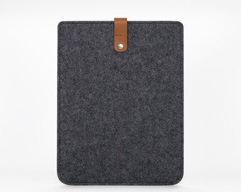 iPad Air Sleeve - iPad Air Case - iPad Air Cover - iPad Air 2 Leather - Leather Felt Case
