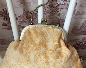 Gold Handbag, Wedding Handbag, Wedding Purse, Small Handbag, Evening Purse, Evening Bag, Special Occasion Bag, Prom Bag, Gifts For Her