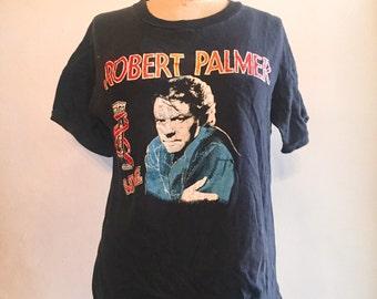 Vintage 80s ROBERT PALMER Tshirt