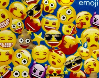 Etsy your place to buy and sell all things handmade for Emoji fabric