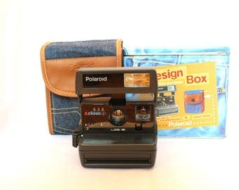 Polaroid 636 - Limited Edition with Jeans bag - Includes transport bag, original box and original instructions book