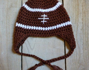 Football Earflap Hat