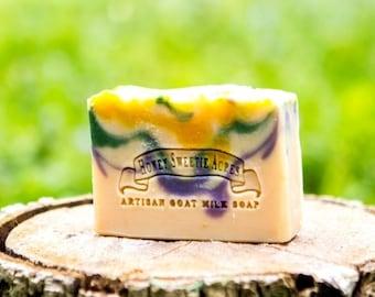 Patchouli Essential Oil Goat Milk Soap