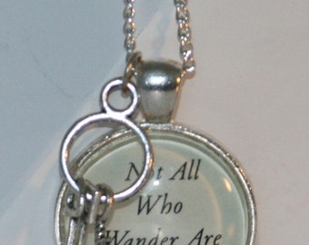 Not All Who Wander Are Lost - Necklace
