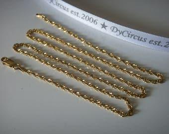 """Milor Gold Vermiel 20"""" Chain"""