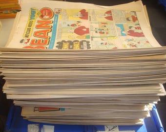 Set of 188 Good condition Beano/Dandy 1980 Comics.