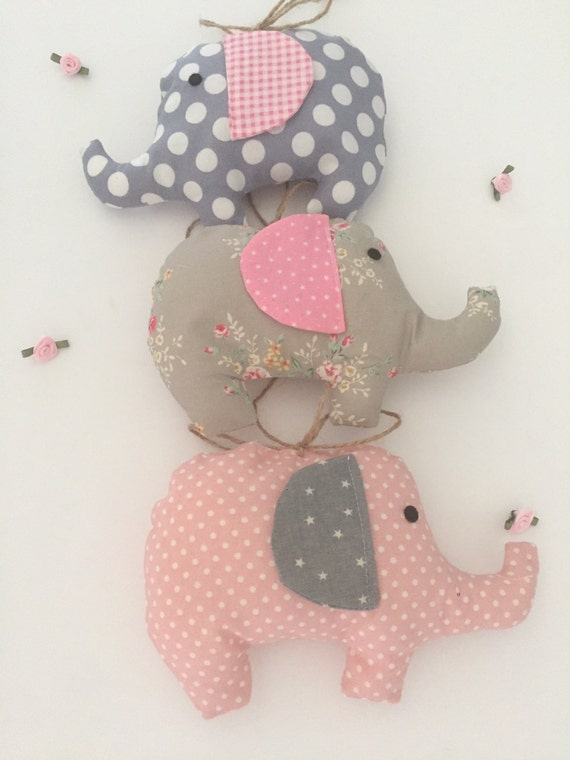 Elephant decoration cot mobile new baby boy girl gift for Baby cot decoration images