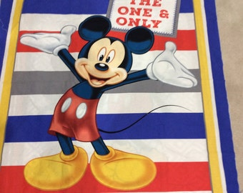Mickey Mouse blanket Crib Size