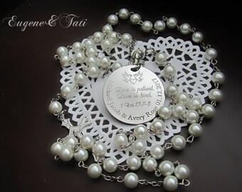 Catholic Wedding Gift For Groom : ... Beads, 1 Corinthians, Name Rosary, Catholic Wedding Gift, Mother