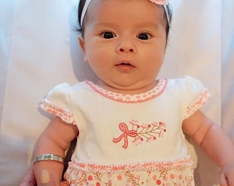 Newborn bangle cuff