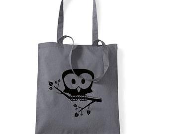 Owl - Jute bag