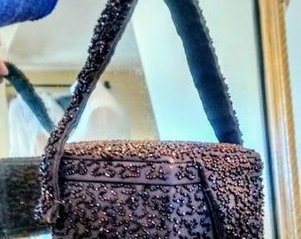 Rare Calem 1940's Beaded Bag
