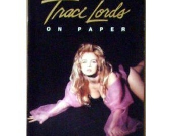 Traci Lords On Paper 1991 (Poster Book) With 14 Full 11x17 Page Images