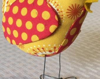 Colorful Fabric Bird
