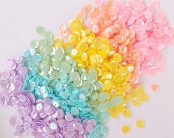 Milky Rainbow Sequin Mix packet