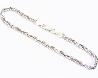 Milor Italian Vintage Sterling Chain Link Bracelet