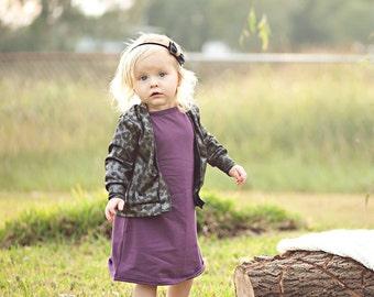 Baby Dresses, Girls Dresses, Kids Dresses, Toddler Dresses, Casual Dress, Baby Dress, Toddler Dress, Solid Color Dresses, Purple Dress