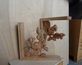 Squirrel Wood Shelf Brack...