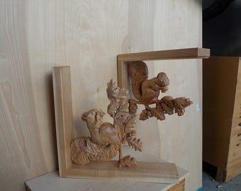 Wood wall art corbel | Etsy