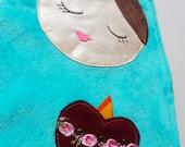 Immaculate Heart Lovey Mini Blanket