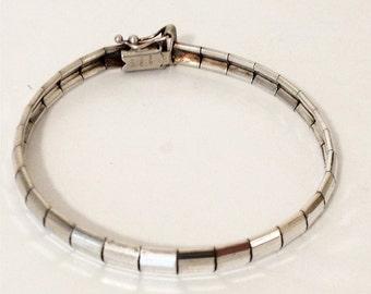 Milor Segmented 925 Sterling Silver Bracelet Italy gw15-453