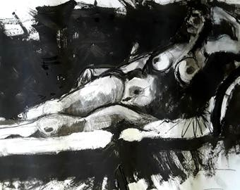 Original Erotic Painting