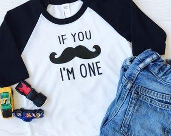 Boys First Birthday Shirt, First Birthday Shirt Boy, 1st Birthday Shirt Boy, Mustache Birthday Shirt, Little Man Birthday Shirt, Raglan