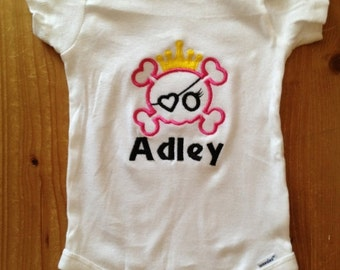 Pirate Princess Shirt or Baby Bodysuit