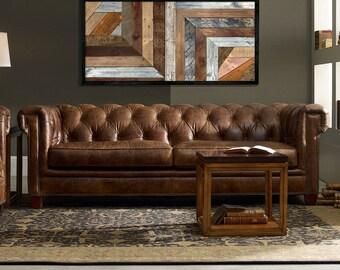 Large Wood wall Art (A 331), wood mosaic, geometric art, large art painting on wood