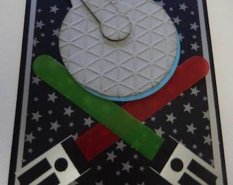 Millenium Falcon Card