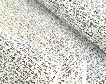 Architextures - Notes(Charcoal) - Carolyn Friedlander - Robert Kaufman