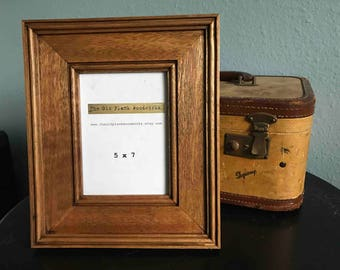 Mahogany Picture Frame - 5 x 7 - Made out of Reclaimed Mahogany