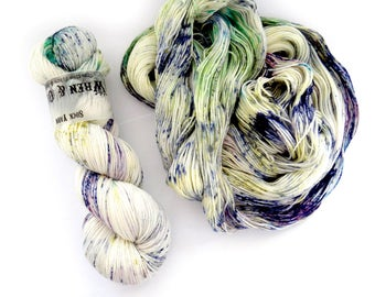 Sock Yarn Superwash Merino/Nylon 85/15 4ply Handdyed Yarn: POP ROCKS