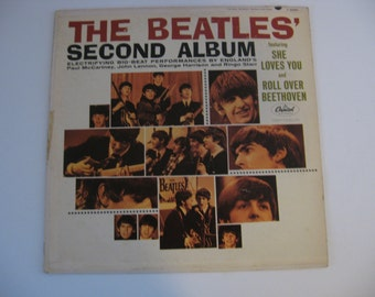 The Beatles - Original 1964 Pressing - Second Album