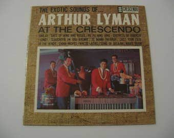 Rare Vinyl! - Arthur Lyman - At The Crescendo - Circa 1963