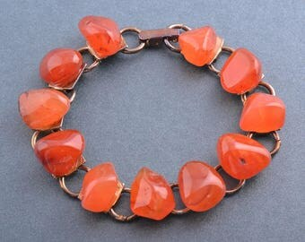 African Bracelet With Stones (934a14)