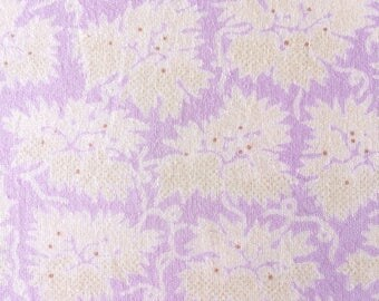 Cotton floral yardage, lavender fabric, vintage-inspired, fabric, dress-maker fabric, floral print, cotton fabric, fabric by the yard,