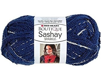 Red Heart Boutique Sashay Yarn Blueprint