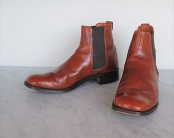 60's-70's Chelsea David Scott men's Beatle boots made in England euro size 8
