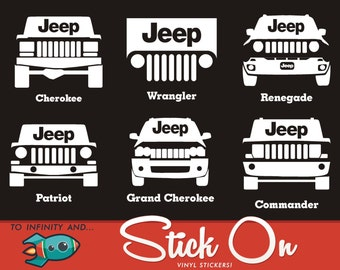 jeep cherokee decals etsy