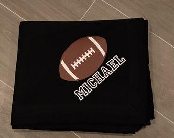 Personalized blanket, sweatshirt blanket, blanket, customized blanket,