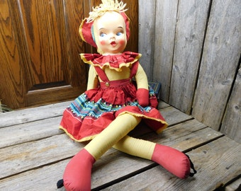 Vintage Mid Century Dance With Me Doll