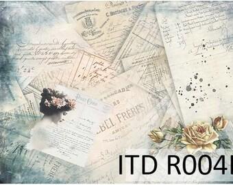 Decoupage Rice Paper, Decoupage Paper, Decorative Paper, Scrapbook Paper, Decopatch, Rice Paper, for decorating, Size A3, #r004l