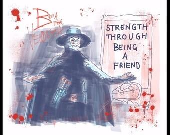 Bea for Vendetta art print