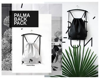 SILVER/BLACK PALMA